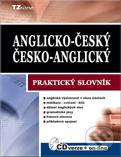 Anglicko-český/česko-anglický praktický slovník (kniha + CD + on-line) -