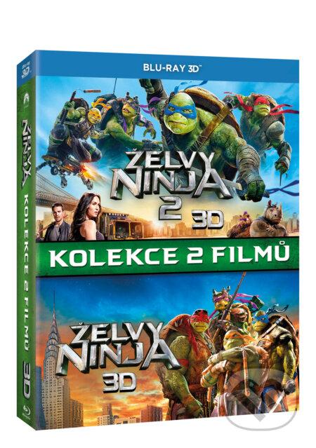 Želvy Ninja kolekce 1.-2. 3D BLU-RAY3D