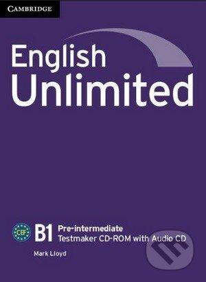 English Unlimited - Pre-intermediate - Testmaker CD-ROM with Audio CD - Mark Lloyd