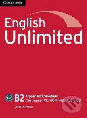 English Unlimited - Upper-Intermediate - Testmaker CD-ROM with Audio CD - Sarah Ackroyd