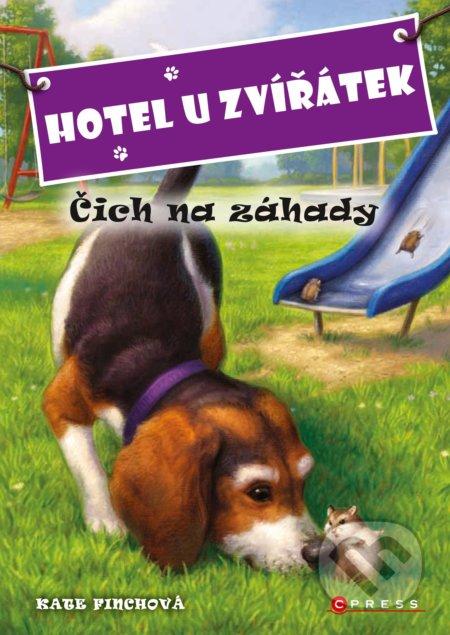 Hotel U zvířátek: Čich na záhady - Kate Finch, John Steven Gurney (ilustrácie)