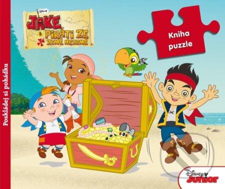 Jake a piráti ze Země Nezemě: Kniha puzzle -