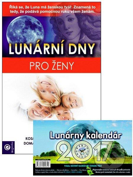 Lunárny kalendár 2017 + kniha Lunární dny pro ženy - Jakubec Vladimír