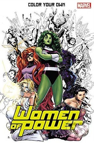 Color Your Own: Women of Power - Olivier Coipel a kol.