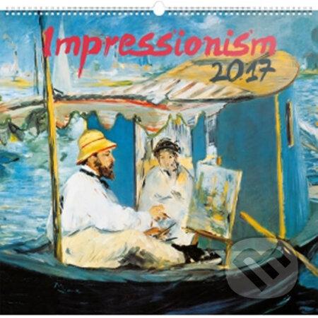 Kalendář nástěnný 2017 - Impresionismus -