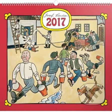 Kalendář nástěnný 2017 - Josef Lada/Na vsi -
