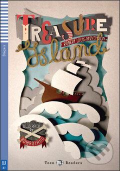 Treasure Island - Robert Louis Stevenson, Silvana Sardi, Bombo (ilustrácie)