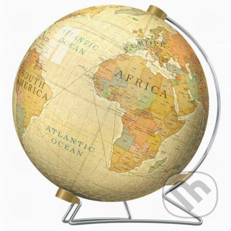 Historická mapa sveta 3D -