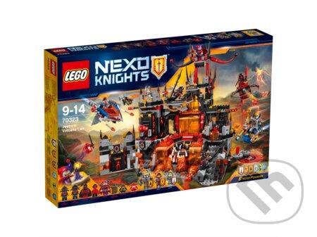 LEGO Nexo Knights 70323 Jestrove sopečné dúpä -