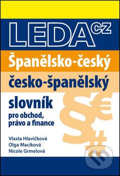 Španělsko-český a česko-španělský slovník obchodního právo a finance -