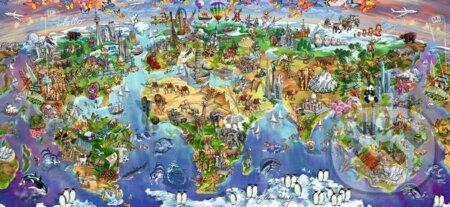 Krásy sveta -