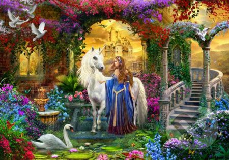 In the Fairy Garden -