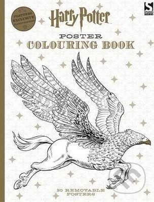 Harry Potter Poster Colouring Book -