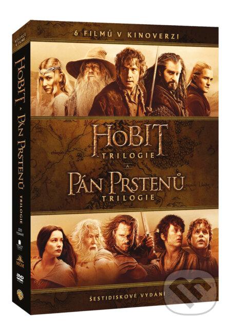 Kolekce Středozemě DVD