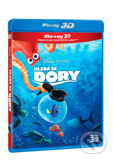 Hledá se Dory BLU-RAY3D