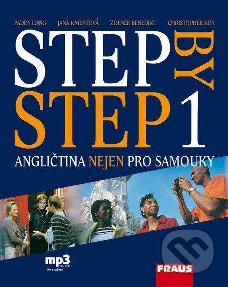 Step by Step 1 - Učebnice - Paddy Long, Jana Kmentová, Zdeněk Benedikt, Christopher Koy
