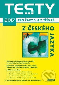 Testy 2017 z českého jazyka -