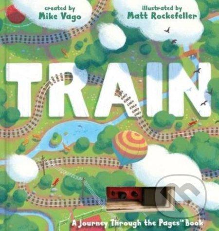 Train - Mike Vago, Matthew Rockefeller (ilustrácie)