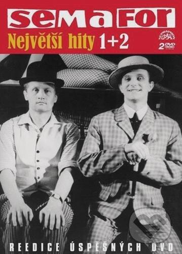 Semafor: Největší hity 1+2 DVD