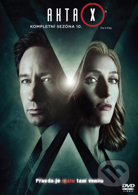 Akta X 10. sezóna DVD