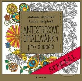 Antistresové omalovánky pro dospělé - Lenka Tréglová, Michaela Daňková