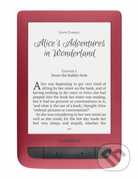 """PocketBook 626 Touch Lux 3, 6"""" E-ink s nasvietením (Červená) -"""