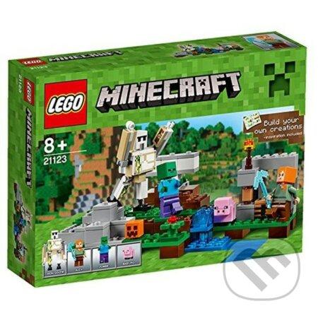 LEGO Minecraft 21123 Železný Golem -