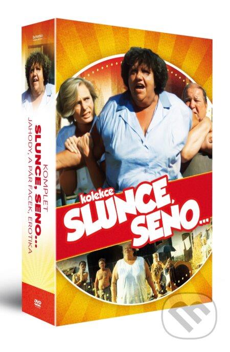 Kolekcia Komplet Slunce, seno… DVD