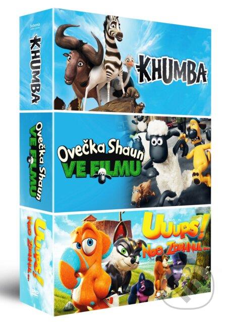Kolekcia animované rozprávky DVD