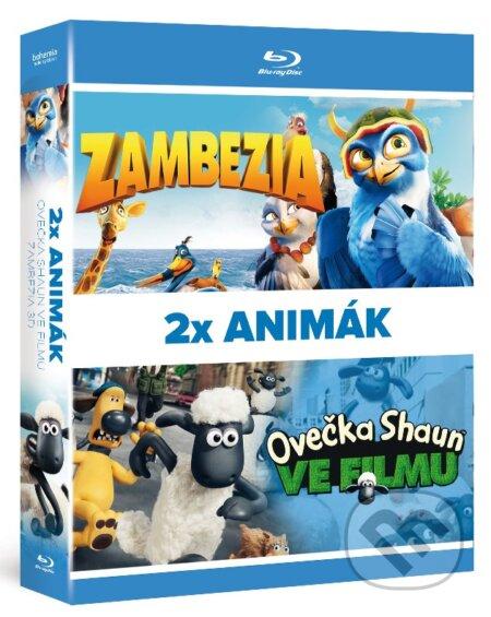 Kolekcia Animované filmy BLU-RAY