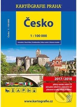 Autoatlas Česko 1:100 000 -