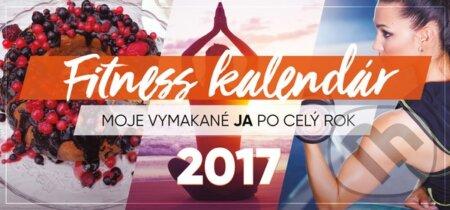 Fitness kalendár 2017 + nálepky -