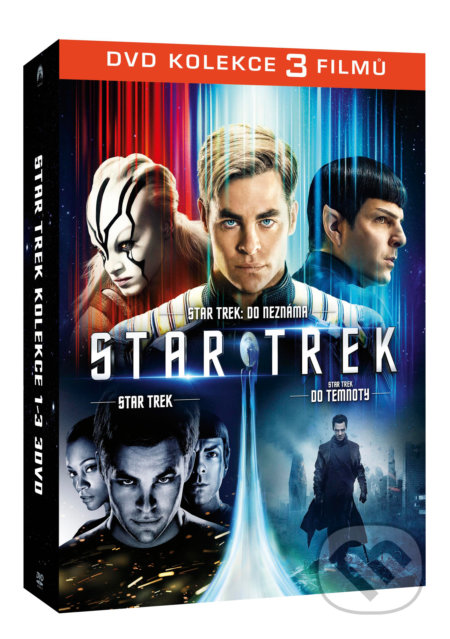 Star Trek kolekce 1-3 DVD