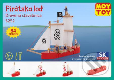 MOY TOY Pirátska loď -