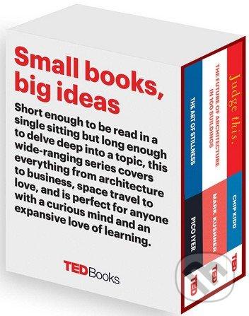 TED Books (Box Set) - Pico Iyer, Marc Kushner, Chip Kidd