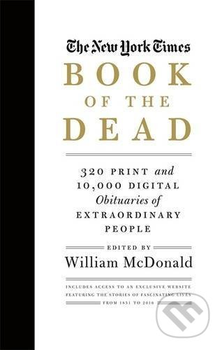The New York Times Book of the Dead - William McDonald