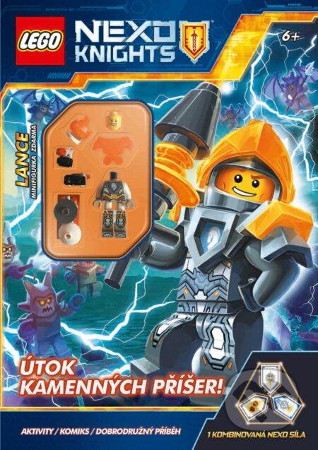 LEGO NEXO KNIGHTS: Útok kamenných příšer! -