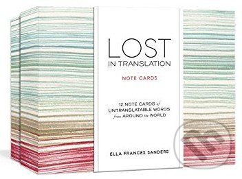 Lost in Translation (Note Cards) - Ella Frances Sanders