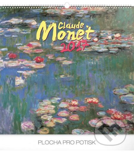 Kalendář nástěnný 2017 - Claude Monet -