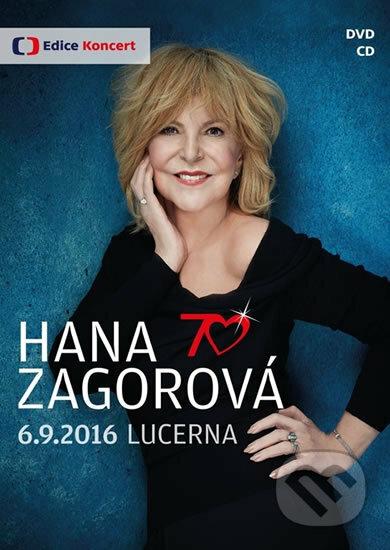 Hana Zagorová 70 - DVD+CD DVD