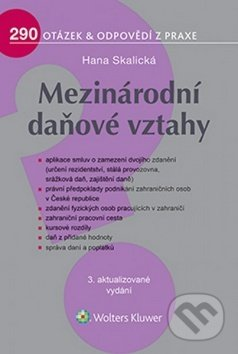 Mezinárodní daňové vztahy - Hana Skalická