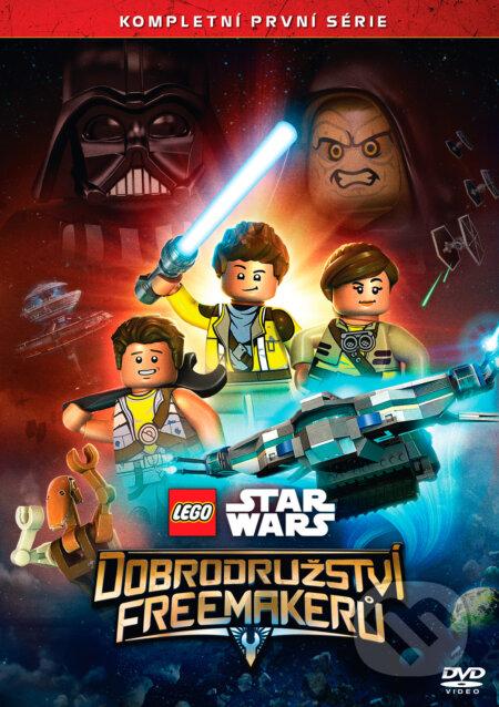 Lego Star Wars: Dobrodružství Freemakerů 1. série DVD