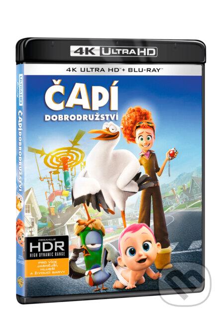 Čapí dobrodružství Ultra HD Blu-ray ULTRAHDBLU-RAY