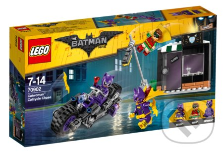LEGO Batman Movie 70902 Catwoman a naháňačka na Catcycle -