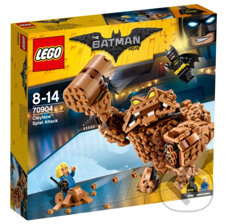 LEGO Batman Movie 70904 Clayfaceov bahnitý útok -