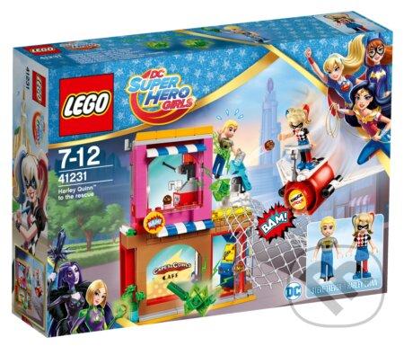LEGO Super Heroes 41231 Harley Quinn sa ponáhľa na pomoc -