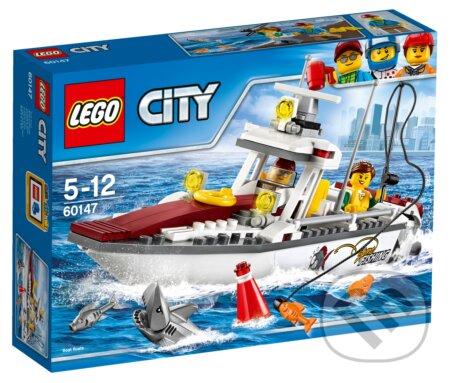 LEGO City 60147 Rybárska loďka -