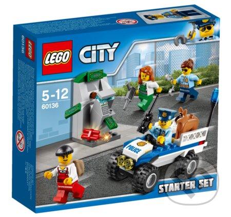 LEGO City 60136 Polícia – štartovacia súprava -