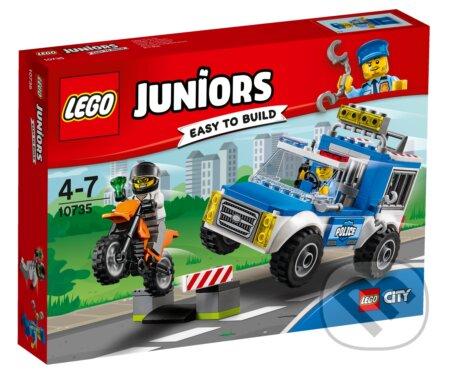 LEGO Juniors 10735 Naháňačka s policajnou dodávkou -