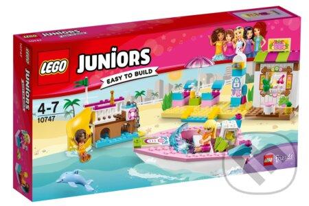 LEGO Juniors 10747 Andrea a Stephanie na dovolenke na pláži -